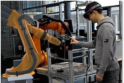 Smart Factory Testumgebung im Virtual Automation Lab