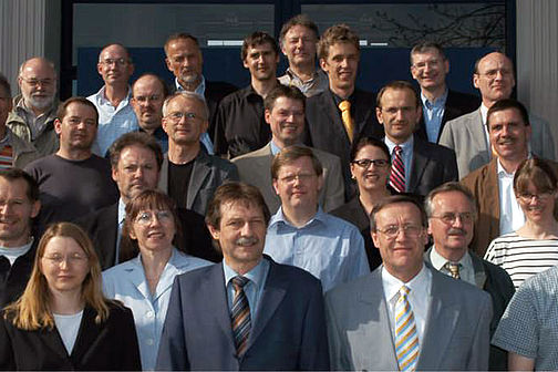 Group picture of the Faculty of Information Technology 2006