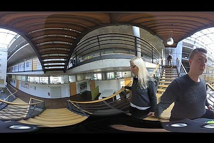 play video: Göppingen Campus – interactive 360° round tour